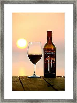 Surf Tomorrow  Framed Print