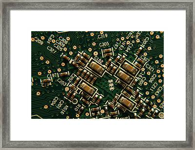 Surface Mount Framed Print by Richard Stephen