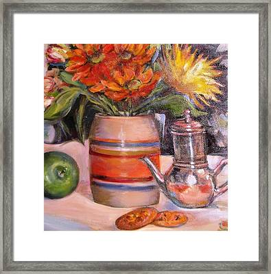 Surfaces Framed Print by Dorothy Siclare