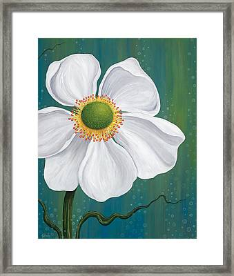 Surfacing Framed Print by Tanielle Childers