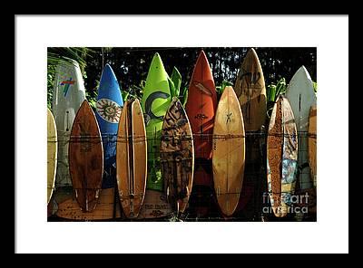 Molokai Framed Prints
