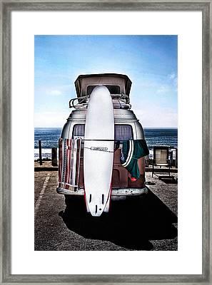 Surfer Framed Print by James David Phenicie