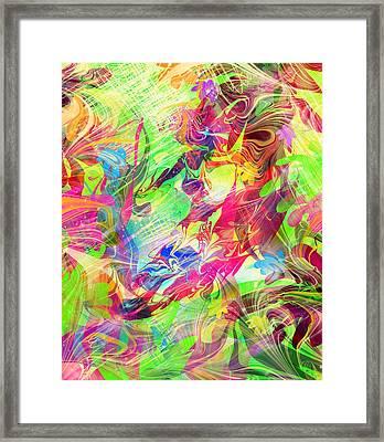 Surfer Framed Print by Rachel Christine Nowicki