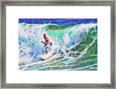 Surfin Usa Framed Print