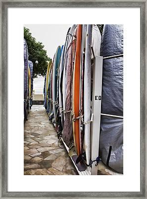 Surfin Usa V2 Framed Print