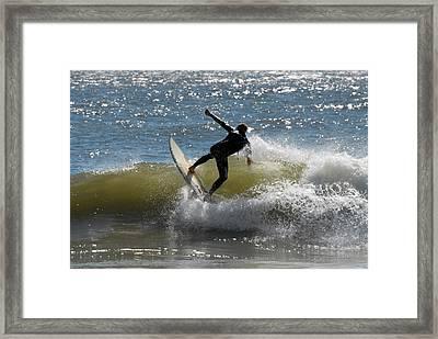 Surfing 442 Framed Print by Joyce StJames