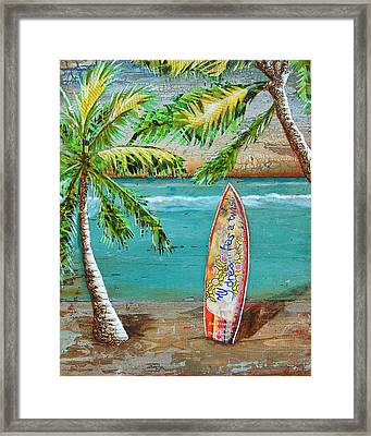 Surf's Up Framed Print by Danny Phillips