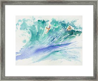 Surf's Up Framed Print