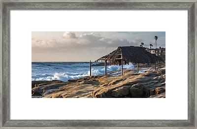 Surf's Up Framed Print by Peter Tellone