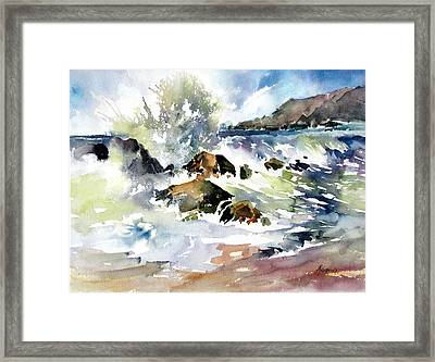 Surfside Crescendo Framed Print