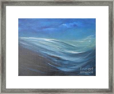 Surge Framed Print by Jane  See