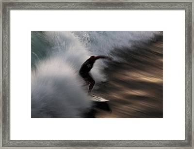 Surge Framed Print by John Daly