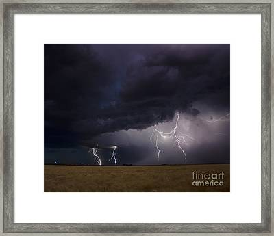 Surging North Framed Print