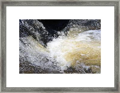 Framed Print featuring the photograph Surging Waters by Tara Potts