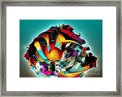 Surreal Framed Print by Bernard MICHEL