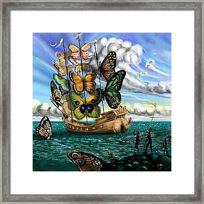 #surreal For #monkeysidebars . My Framed Print by David Burles