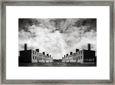 Surreal Landscape Crown Point Framed Print by Edward Fielding