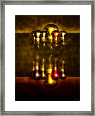 Surreal Lights Framed Print by Ramon Martinez