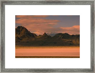 Surreal Mountains In Utah #4 Framed Print