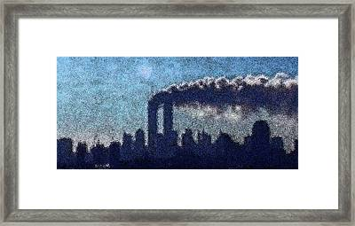 Surreal Silhouette  Framed Print