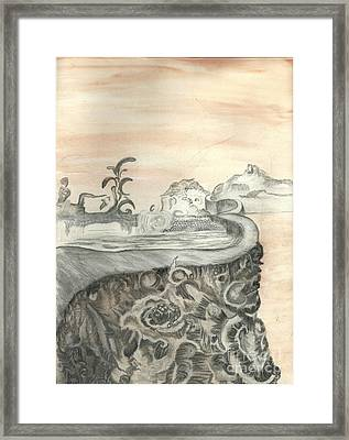 Surreal View Framed Print