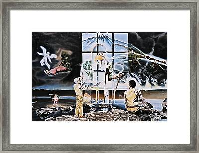 Surreal Windows Of Allegory Framed Print by Dave Martsolf