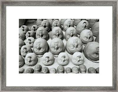 Surrealism In Calcutta Framed Print by Shaun Higson