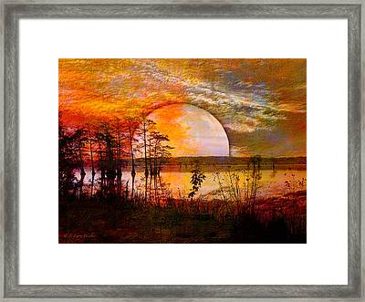 Surrealistic Sunrise Framed Print
