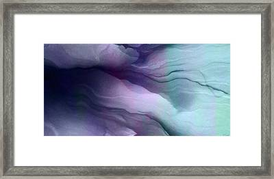 Surrender - Abstract Art Framed Print by Jaison Cianelli