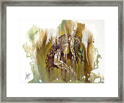 Surrender Framed Print by Karina Llergo