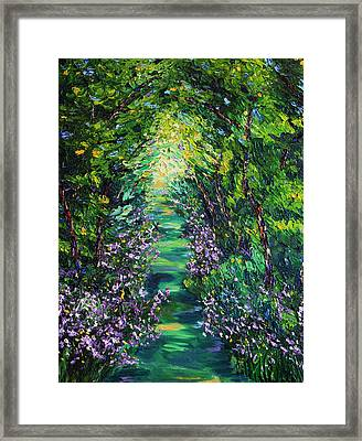 Framed Print featuring the painting Surrender by Meaghan Troup