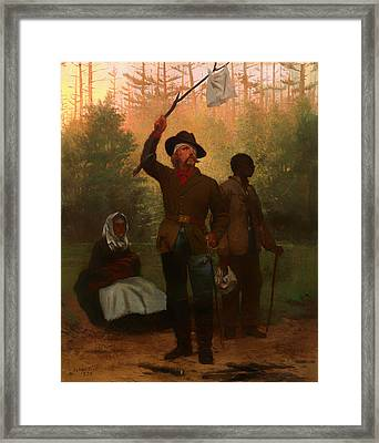 Surrender Of Of A Confederate Soldier Framed Print