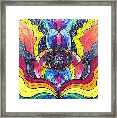 Surrender Framed Print by Teal Eye  Print Store