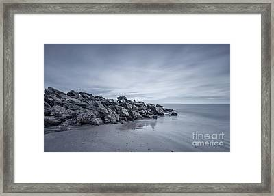 Surrender To The Sea Framed Print