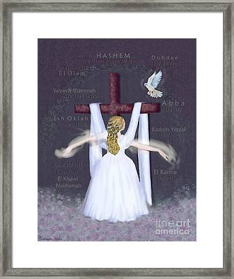 Surrender 2 Framed Print