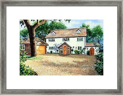 Surrey Home Framed Print