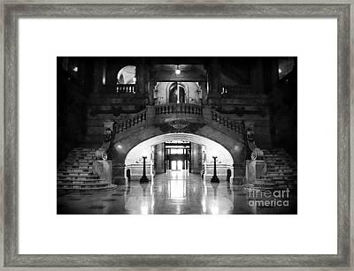 Surrogate's Court 1990s Framed Print
