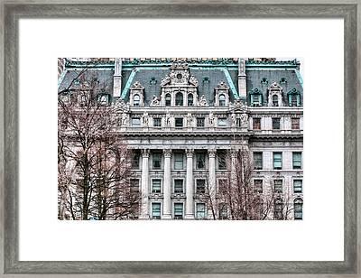 Surrogates Court  Framed Print