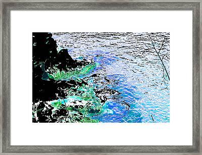 Surround Me Framed Print by Regina Avila