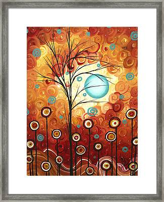 Surrounded By Love By Madart Framed Print by Megan Duncanson