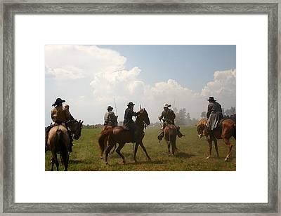 Surrounded - Richmond Ky Framed Print