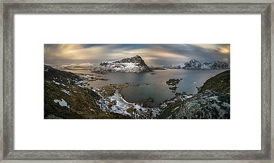 Surroundings Of Offersoykamen Framed Print by Panoramic Images