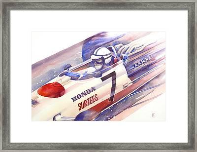 Surtees Framed Print by Robert Hooper