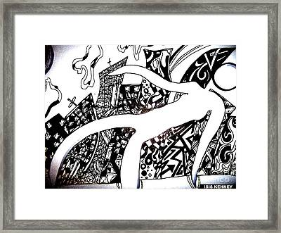 Survival Framed Print by Isis Kenney