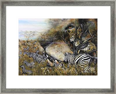 Survival Framed Print by Laneea Tolley