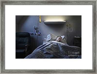Surviving Breast Cancer Chemotherapy Framed Print by Justin Paget