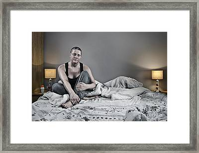 Surviving Breast Cancer Framed Print by Justin Paget