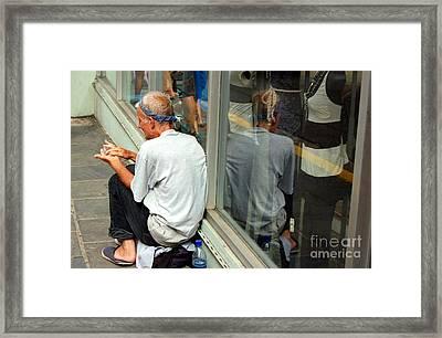 Surviving Framed Print by Debbi Granruth