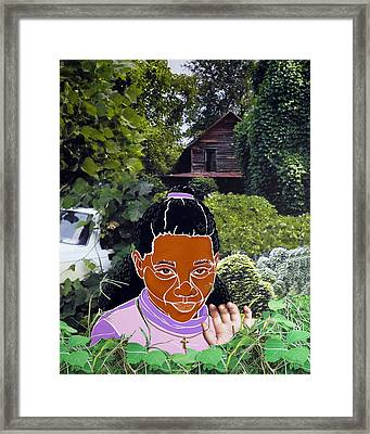 Surviving Kudzu Framed Print