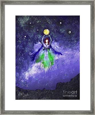 Framed Print featuring the painting Survivor by Alys Caviness-Gober